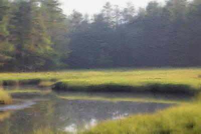 Priska Wettstein Pink Hues - Salt Marsh 89 by Modern Art