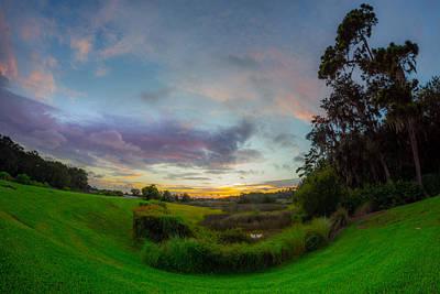 Photograph - Salt Marsh Summer Twilight by Chris Bordeleau