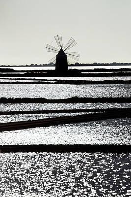 Salt Mill Art Print