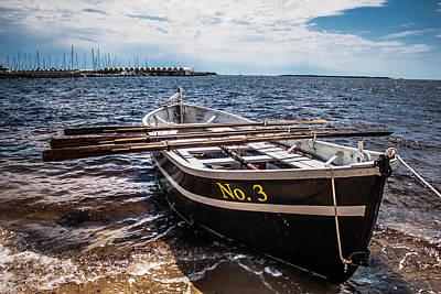 Photograph - Salt Raid Boat Civil War 2 by Debra Forand