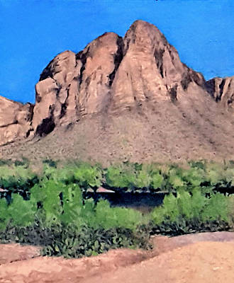 Painting - Salt River Afternoon by Jessica Anne Thomas
