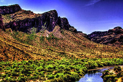 Photograph - Salt River At Coon's Bluff by Roger Passman