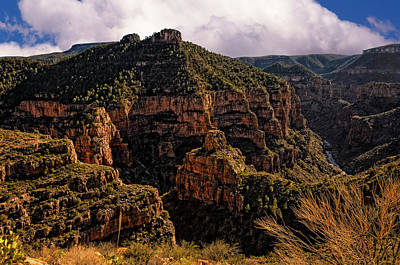 Photograph - Salt River Canyon No.1 by Mark Myhaver