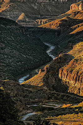 Photograph - Salt River Canyon No.26 by Mark Myhaver