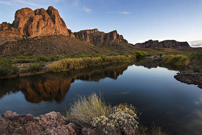 Photograph - Salt River Overlook by Dave Dilli