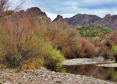 Photograph - Salt River Pebble Beach by Judy Kennedy