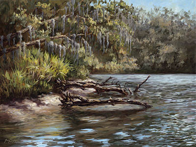 Painting - Salt Springs Run by Jose Rodriguez