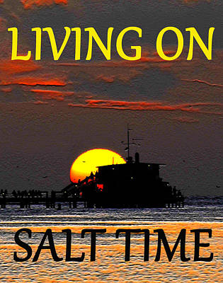 Painting - Salt Time by David Lee Thompson