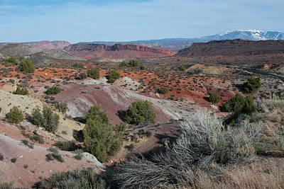 Photograph - Salt Valley Landscape by Cascade Colors