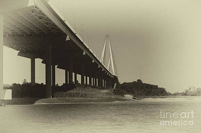 Photograph - Salt Water Days In Charleston by Dale Powell