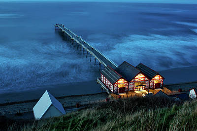 Saltburn - By - The - Sea Art Print by Benjamin Lambert