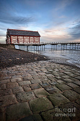 Saltburn By The Sea Art Print by Nichola Denny