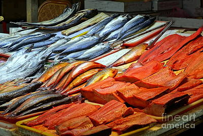 Photograph - Salted And Preserved Fish by Yali Shi