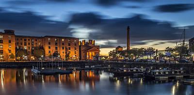 Salthouse Dock - Liverpool Art Print