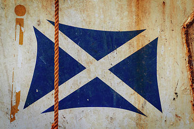 Photograph - Saltire by Bud Simpson