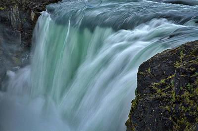Photograph - Salto Grande Waterfall - Patagonia by Stuart Litoff