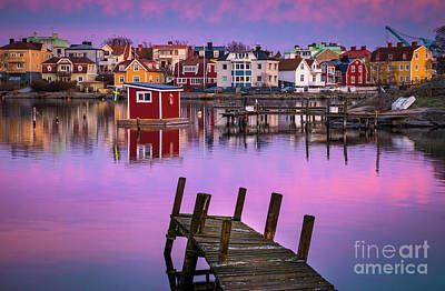Crooked Photograph - Salto Island Stillness by Inge Johnsson
