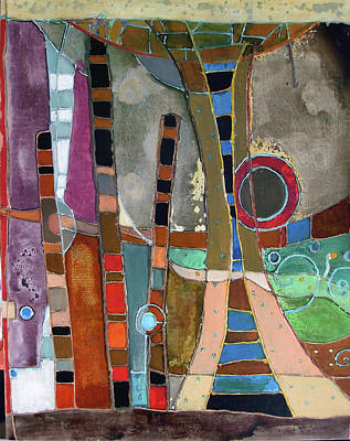 Subterranean Painting - Salto by Lory MacDonald