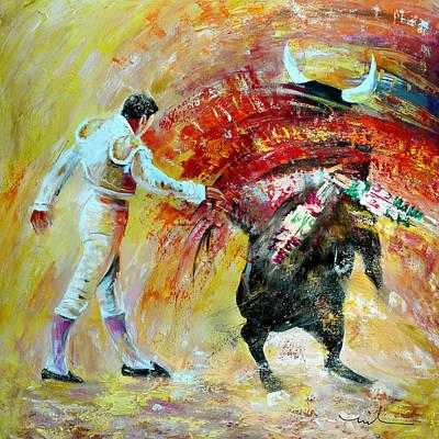 Painting - Salto Mortale by Miki De Goodaboom