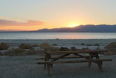 Photograph - Salton Sea Picnic  by Christy Pooschke