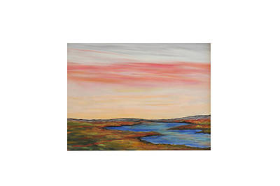 Painting - Saltpond Walk by Daniel Dubinsky