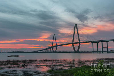 Photograph - Salty Charleston Waters by Dale Powell