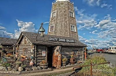 Photograph - Salty Dawg Saloon by Dyle   Warren