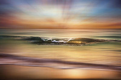 Photograph - Salty Light Dreamscape by Debra and Dave Vanderlaan