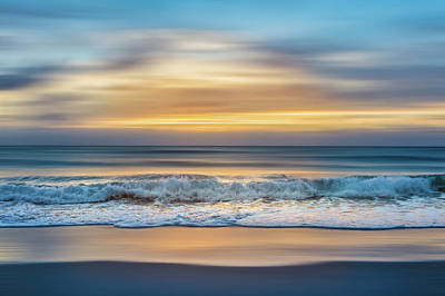 Photograph - Salty Waves Dreamscape by Debra and Dave Vanderlaan