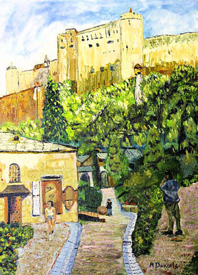 Painting - Saltzburg by Michael Daniels