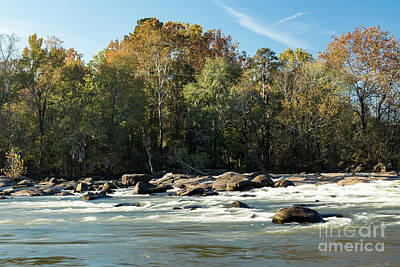 Photograph - Saluda River Rapids - 3 by Charles Hite