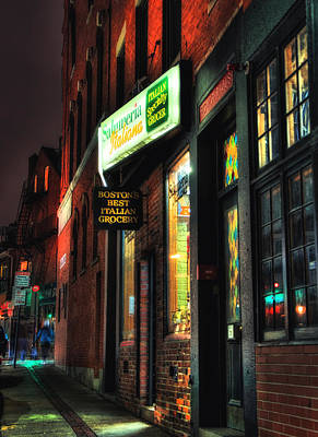 Architecture Photograph - Salumeria Italiana - North End - Boston by Joann Vitali
