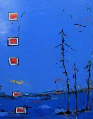 Painting - Salut Abitibi by Francine Ethier