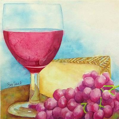 Painting - Salut To Day's End by Barb Toland