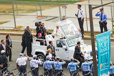 Photograph - Salute The  Pope by Alice Gipson