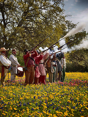 Photograph - Salute To Texas Independence by Charles McKelroy