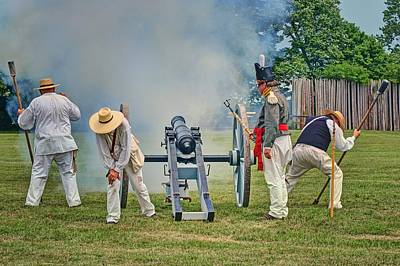Photograph - Salute To The States - Cannon by Nikolyn McDonald