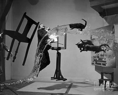 Motion Photograph - Salvador Dali 1904-1989 by Granger