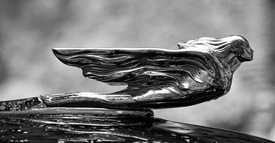 Photograph - Salvador Dali Cadillac Emblem by Tatiana Travelways