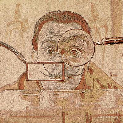 Salvador Dali Original by Daniela Constantinescu