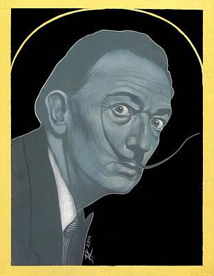 Painting - Salvador Dali by Jovana Kolic
