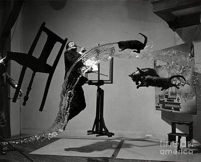 Photograph - Salvador Dali  by Science Source