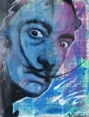 Portrait Painting - Salvador Dali by Venus