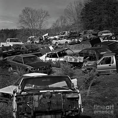 Photograph - Salvage 36 by Patrick M Lynch