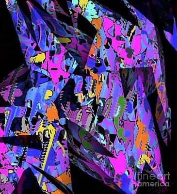 Painting - Salvage  by Expressionistart studio Priscilla Batzell