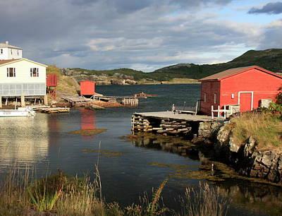 Photograph - Salvage Village Newfoundland 2 by Tatiana Travelways