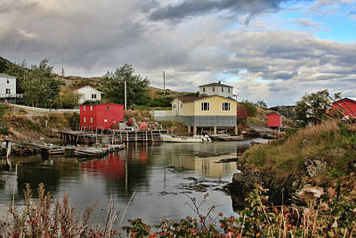 Photograph - Salvage Village Newfoundland 3 by Tatiana Travelways
