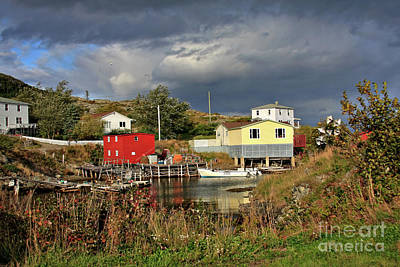 Photograph - Salvage Village Newfoundland by Tatiana Travelways