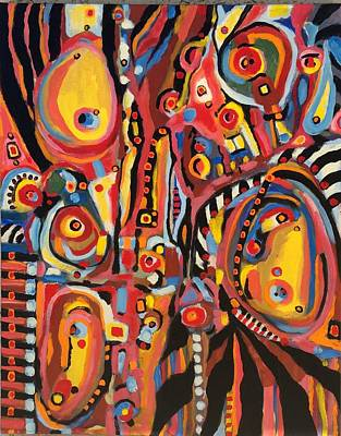 Painting - Salvaje # 10 by Jeffrey Davies