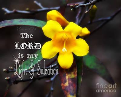 Salvation - Verse Print by Anita Faye